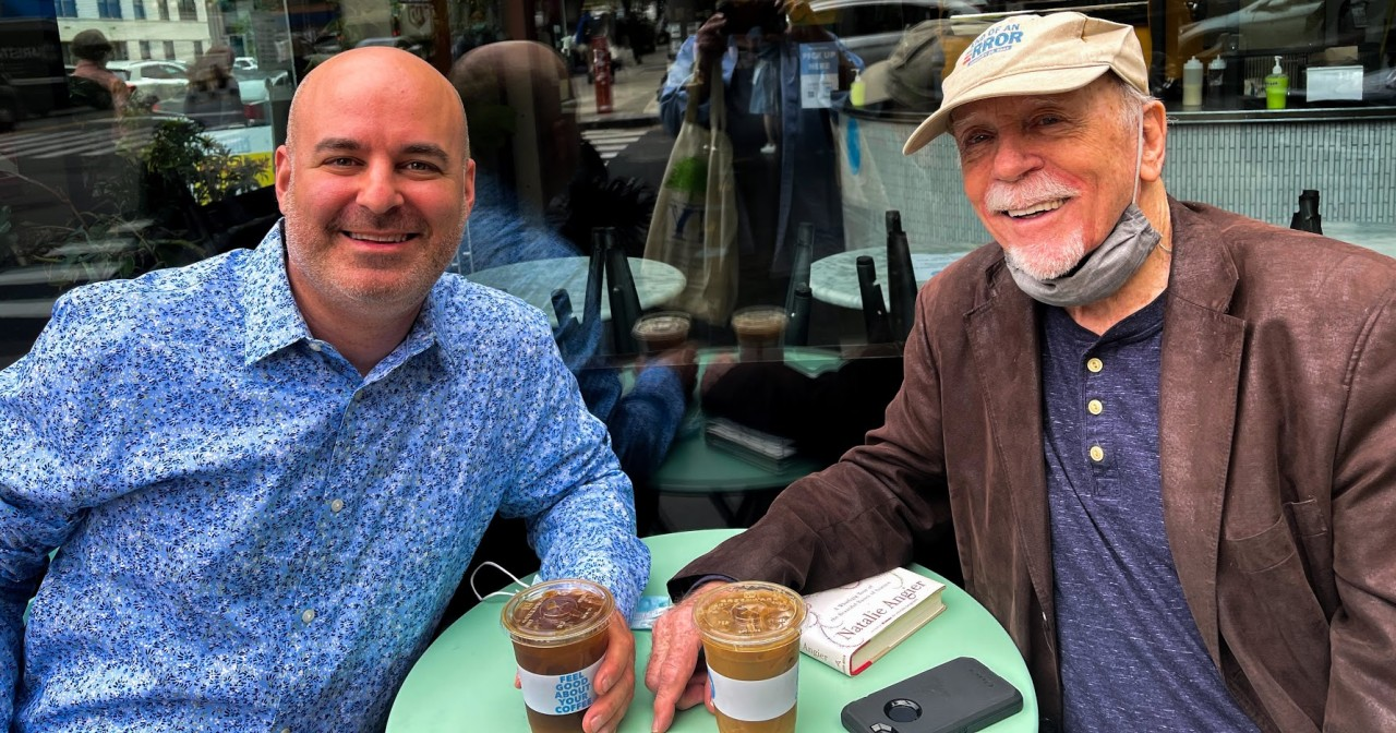 Jay Mandel and Longtime Mentor, Don Bates
